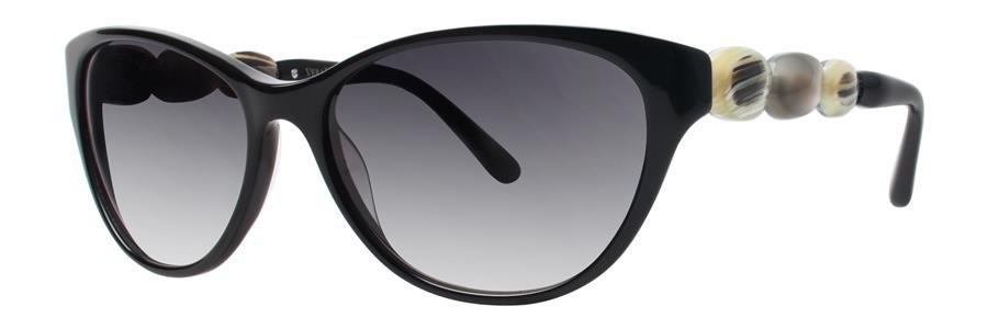 Vera Wang ELIXIR Black Sunglasses Size56-16-135.00