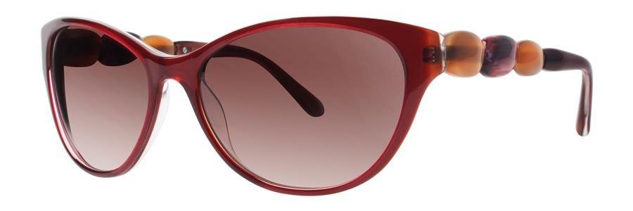 Vera Wang ELIXIR Burgundy Sunglasses Size56-16-135.00