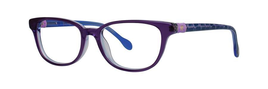 Lilly Pulitzer ELLA Purple Eyeglasses Size46-15-125.00