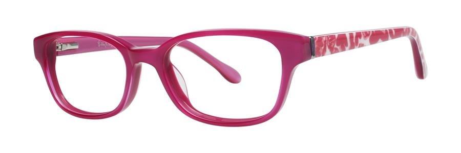 Lilly Pulitzer EMMA Cotton Candy Eyeglasses Size46-16-125.00