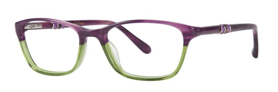 Lilly Pulitzer EMMALINE Grape Lime Eyeglasses Size52-16-135.00