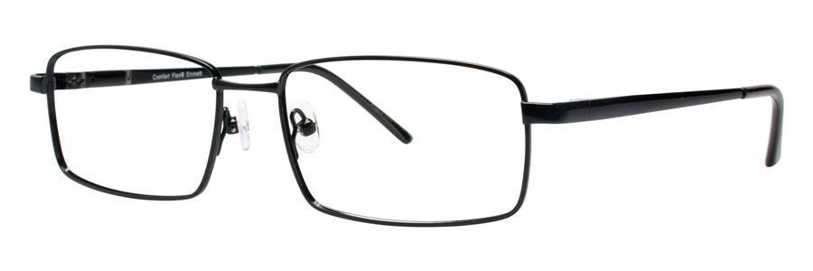 Comfort Flex EMMETT Black Eyeglasses Size55-16-140.00