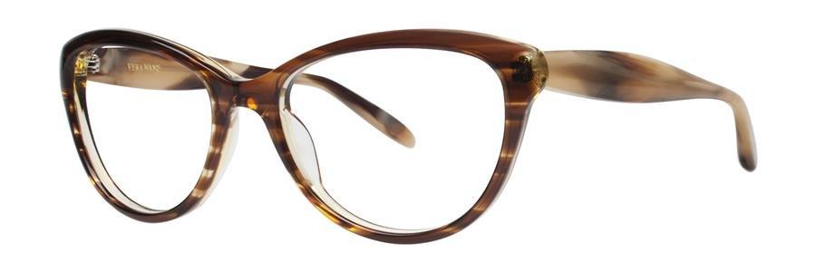 Vera Wang EMMY Tabac Eyeglasses Size53-17-135.00