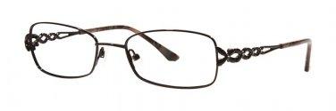 Dana Buchman ENDORA Black Eyeglasses Size50-18-136.00