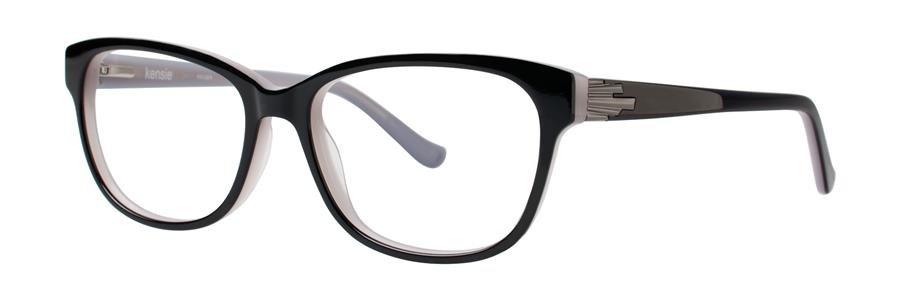 kensie ESCAPE Black Eyeglasses Size54-15-140.00