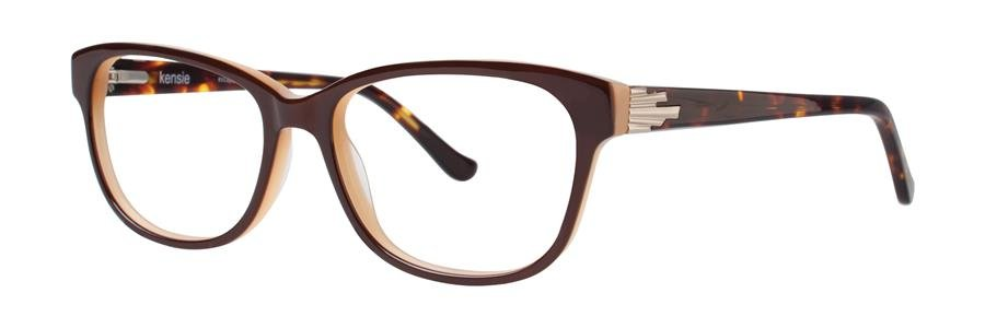 kensie ESCAPE Brown Eyeglasses Size52-15-135.00