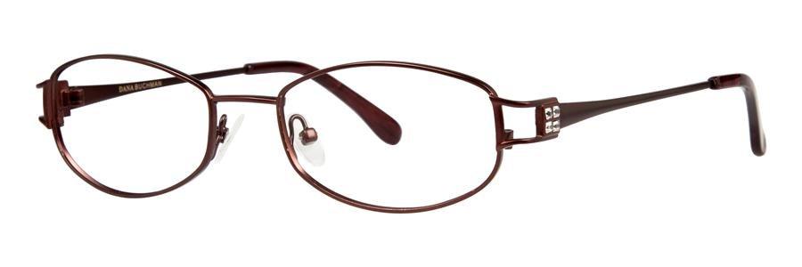 Dana Buchman ESTELLE Burgundy Eyeglasses Size52-18-135.00