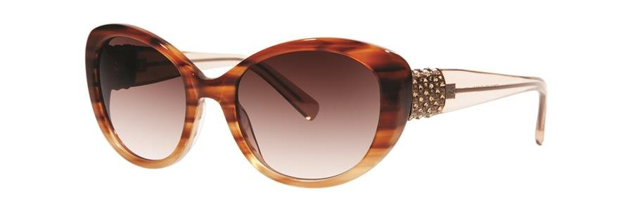 Vera Wang EUDORA Brown Sunglasses Size52-18-135.00
