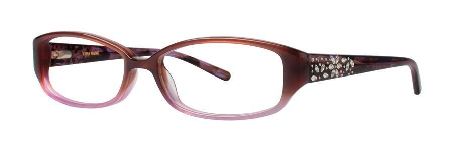 Vera Wang EVADNE Wine Eyeglasses Size52-15-132.00