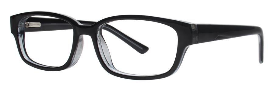 Gallery EVAN Black Eyeglasses Size46-16-130.00
