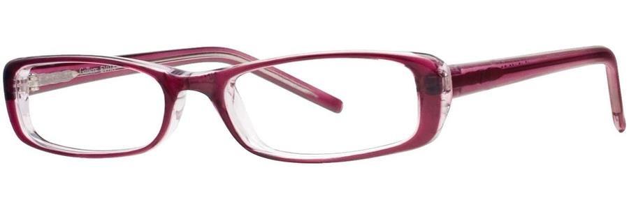 Gallery EVITA Red Eyeglasses Size50-17-135.00