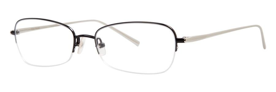 Vera Wang EXOTIQUE Black Eyeglasses Size50-16-137.00