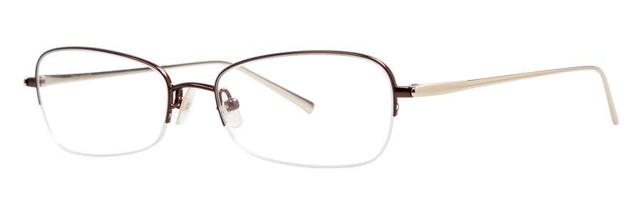 Vera Wang EXOTIQUE Pecan Eyeglasses Size50-16-137.00