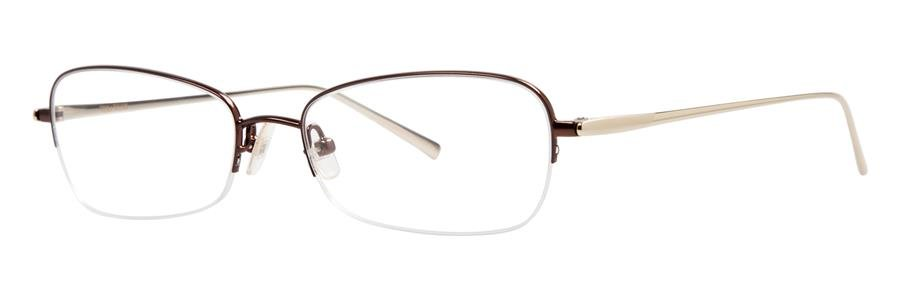 Vera Wang EXOTIQUE Pecan Eyeglasses Size52-16-140.00