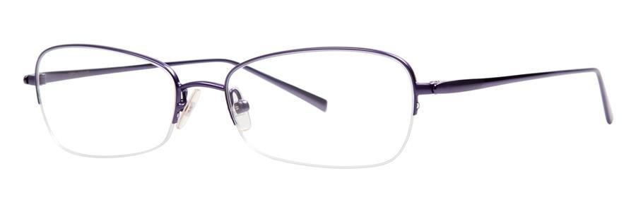 Vera Wang EXOTIQUE Violet Eyeglasses Size52-16-140.00