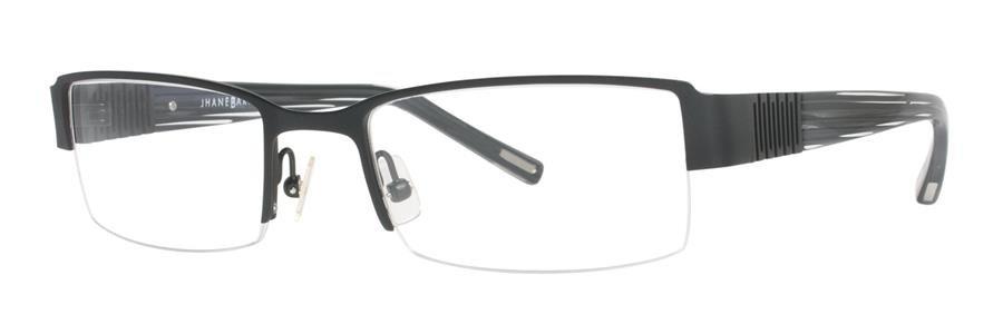 Jhane Barnes EXPANSE Black Eyeglasses Size53-19-135.00