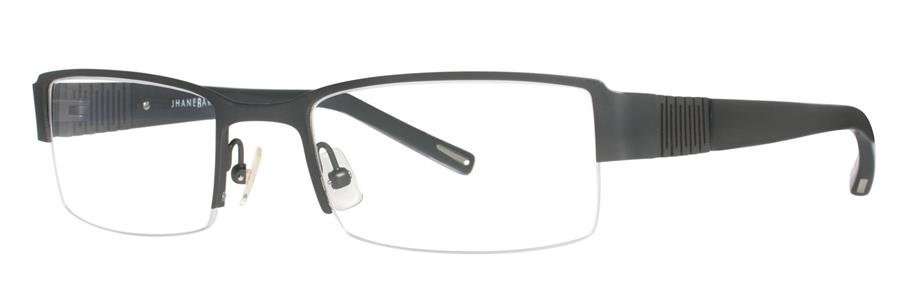 Jhane Barnes EXPANSE Gunmetal Eyeglasses Size53-19-135.00