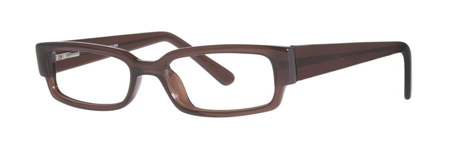 Fundamentals F023 Brown Eyeglasses Size49-18-135.00
