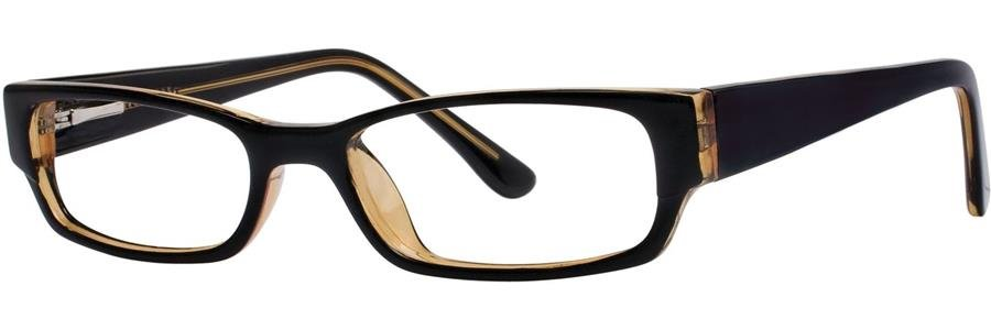 Fundamentals F024 Black Eyeglasses Size48-18-133.00