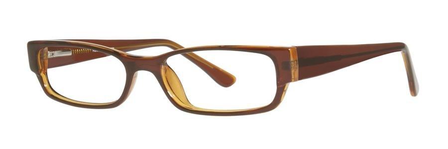 Fundamentals F024 Brown Eyeglasses Size50-18-138.00