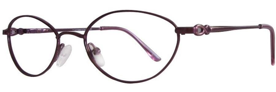Fundamentals F105 Burgundy Eyeglasses Size51-18-