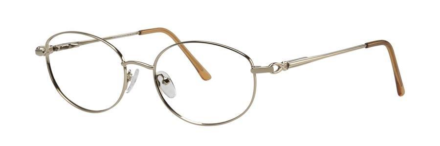 Fundamentals F106 Gold Eyeglasses Size54-17-