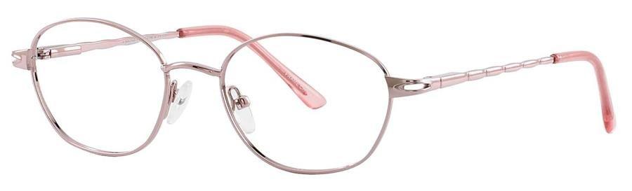 Fundamentals F107 Pink Eyeglasses Size52-17-