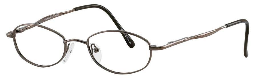 Fundamentals F110 Brown Eyeglasses Size48-18-