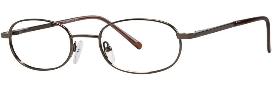 Fundamentals F111 Brown Eyeglasses Size49-19-135.00