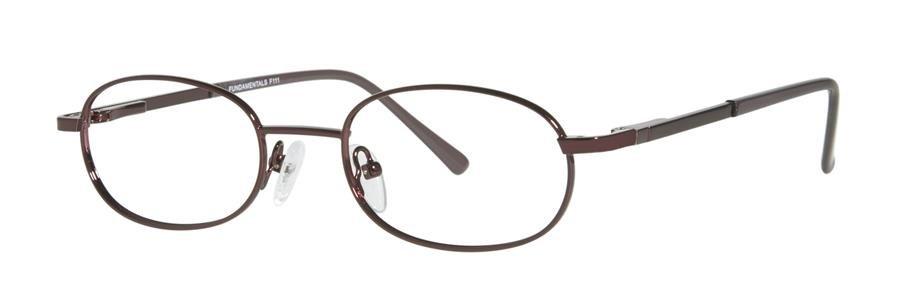 Fundamentals F111 Burgundy Eyeglasses Size47-19-130.00