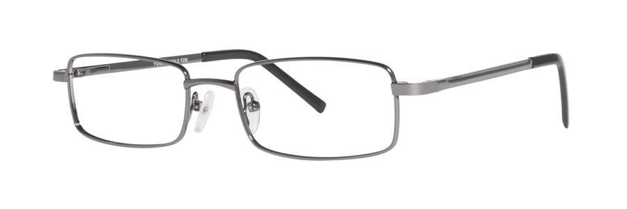 Fundamentals F206 Gunmetal Eyeglasses Size52-18-140.00