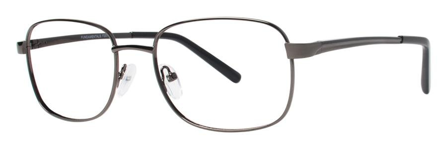 Fundamentals F207 Gunmetal Eyeglasses Size54-18-145.00