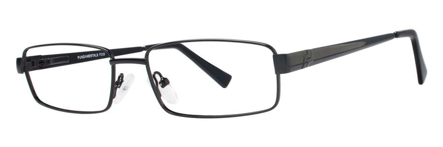 Fundamentals F209 Black Eyeglasses Size55-17-140.00