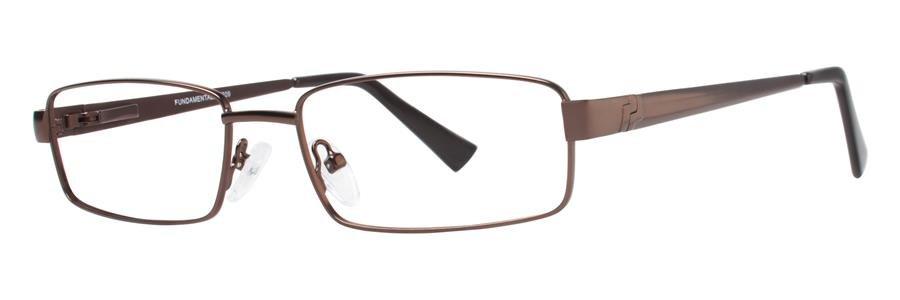 Fundamentals F209 Brown Eyeglasses Size53-17-135.00