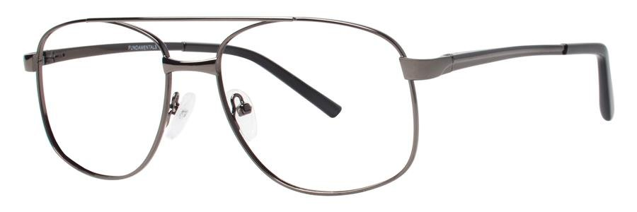 Fundamentals F210 Gunmetal Eyeglasses Size56-18-150.00
