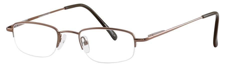 Fundamentals F303 Brown Eyeglasses Size48-17-