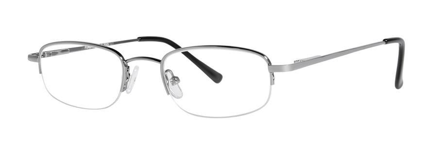 Fundamentals F303 Gunmetal Eyeglasses Size48-17-