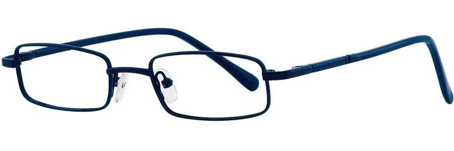 Fundamentals F308 Blue Eyeglasses Size46-18-