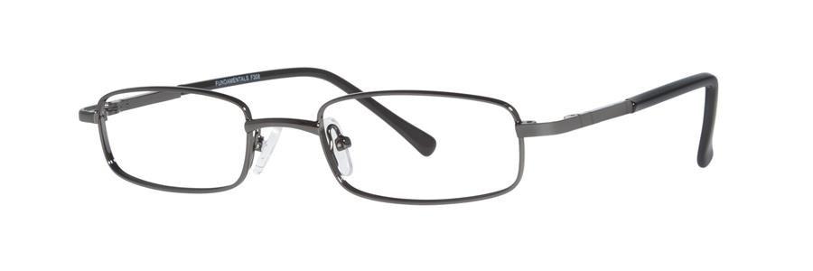 Fundamentals F308 Gunmetal Eyeglasses Size46-18-