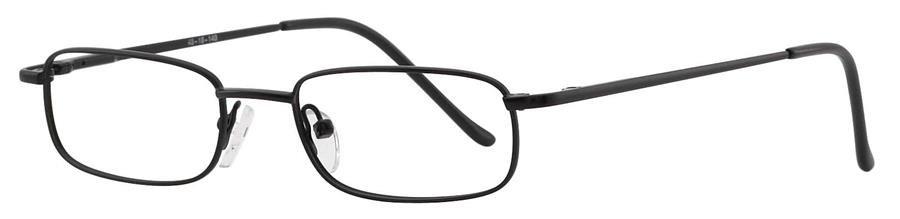 Fundamentals F309 Black Eyeglasses Size48-18-