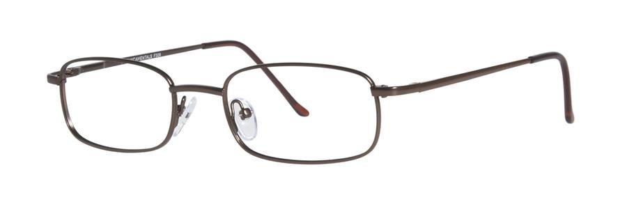 Fundamentals F309 Brown Eyeglasses Size50-18-
