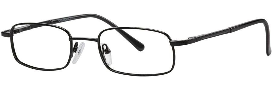 Fundamentals F313 Black Eyeglasses Size48-18-135.00