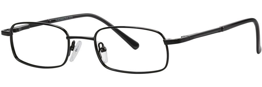 Fundamentals F313 Black Eyeglasses Size50-18-140.00