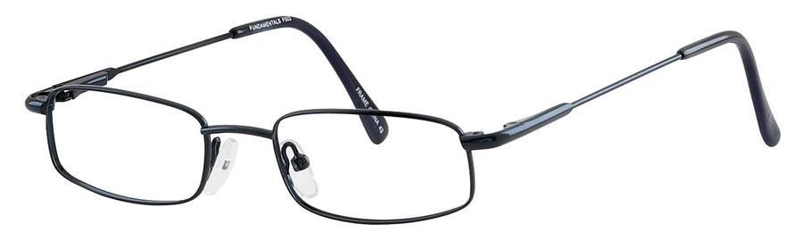 Fundamentals F502 Blue Eyeglasses Size44-17-
