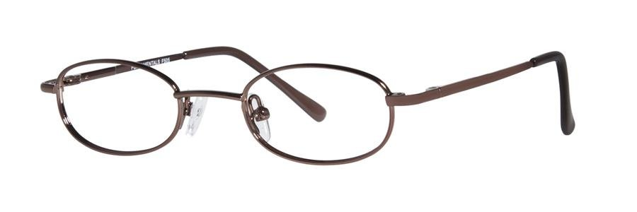 Fundamentals F505 Brown Eyeglasses Size40-18-