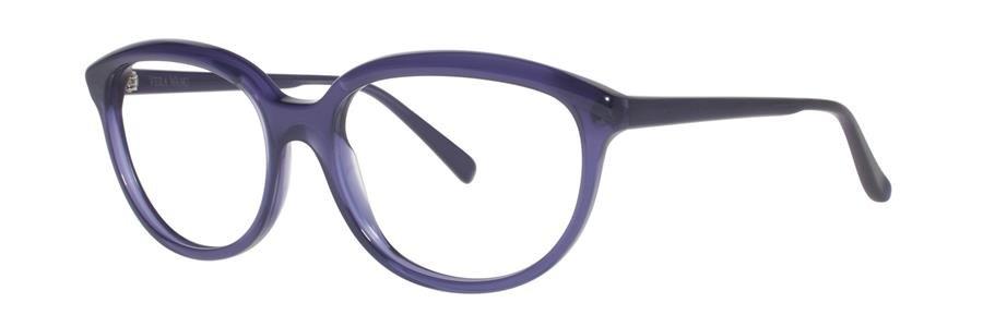 Vera Wang FABIENNE Plum Eyeglasses Size56--135.00