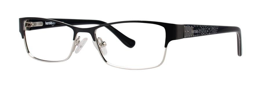 kensie FANCY Black Eyeglasses Size46-14-120.00