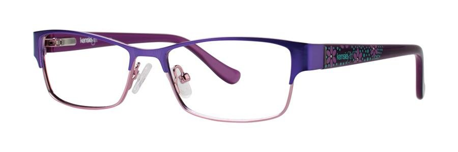 kensie FANCY Purple Eyeglasses Size48-14-125.00