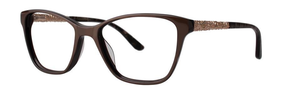 Dana Buchman FAUVE Brown Eyeglasses Size53-16-140.00