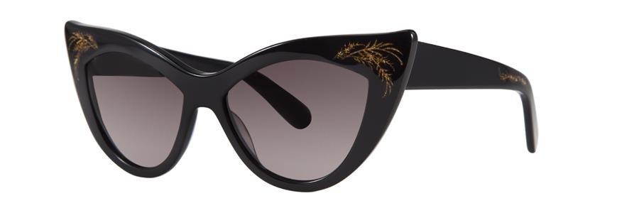 Zac Posen FIONA Black Sunglasses Size54-15-135.00